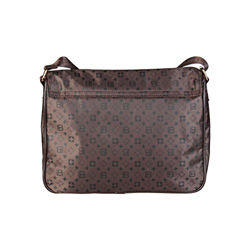 Designer Brown 00 £119 Bag Laura Body RRP Women Biagiotti Genuine Crossbody Cross Bag xURC0naU
