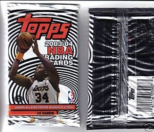 2003-04 Topps NBA Basketball Pack Fresh From Box! by Topps