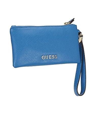 Guess Tasche Sissi 17 cm Blau Damen: : Koffer
