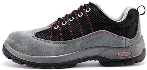 作業靴 男性用安全靴、通気性スチールつま先キャップ作業、男性用屋外滑り止め安全靴、6KV断熱作業靴 安全靴 (サイズ さいず : 42)