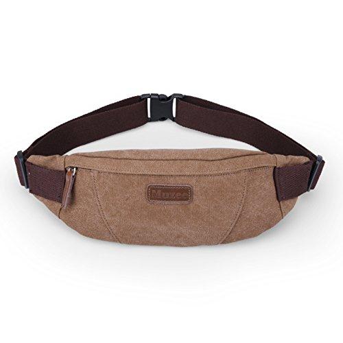Carteras de hombres/ versátil pecho Pack/Deportes al aire libre mini paquete/ de la lona bolsas de los hombres/Bandolera casual-B B