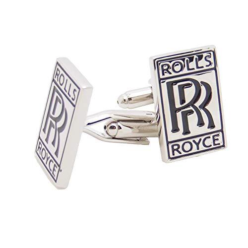 J&C Rolls Royce Logo SUV Auto Cufflinks