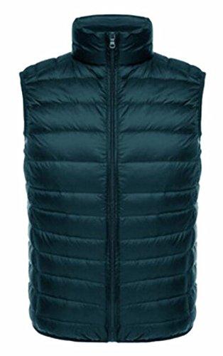 Generic Men's Light Stand Collar Packable Puffer Down Vest 4
