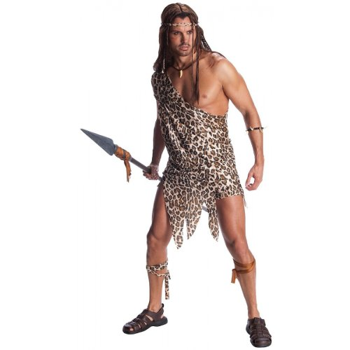 Jungle Costumes For Adults (Edgar Rice Burroughs Tarzan Adult Tarzan Costume, Standard Color, X-Large)