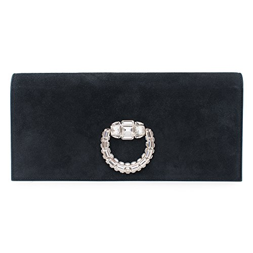 Gucci-Lady-Lock-Black-Evening-Bag-Swarovski-Silver-New-Authentic