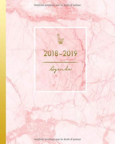 Agenda 2018-2019: Agenda Scolaire d Août 2018 à Juillet ...