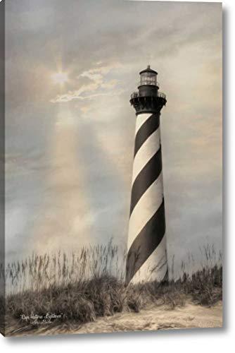 Cape Hatteras Lighthouse Canvas - Cape Hatteras Lighthouse by Lori Deiter - 11