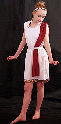 World Book day ANCIENT ROME/GREEK Slave Girl Costume (AGE 5-6)