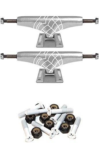 ペースト明らかにワゴンThunder Trucks Polishedライト145 mmスケートボードトラックwith 1