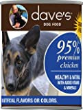 Dave's Pet Food Chicken Meat Food (12 Cans Per Case), 13.2 oz.