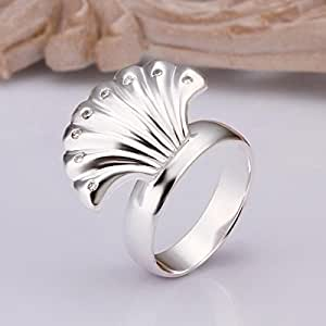 ZEARO broche de plata de ley Diseño de Joyería en relieve con brillantes en forma de