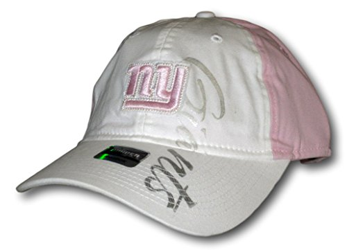 New York Giants Light Pink and White Slouch Adjustable Hat Lid Cap