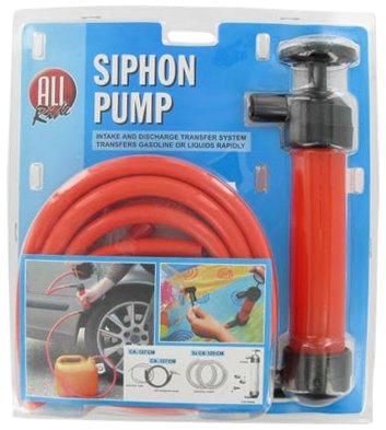 Saugpumpe - Ideal zum Umfüllen von Benzin, Diesel, Öl oder Wasser