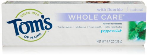 whole care toothpaste