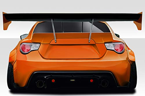 (Duraflex Replacement for 2013-2019 Scion FR-S Toyota 86 Subaru BRZ GT500 V3 GT Swan Wing Spoiler - 9 Piece)