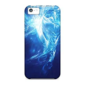 Durable Case For The Iphone 5c- Eco-friendly Retail Packaging(blue Smoke) by ruishername