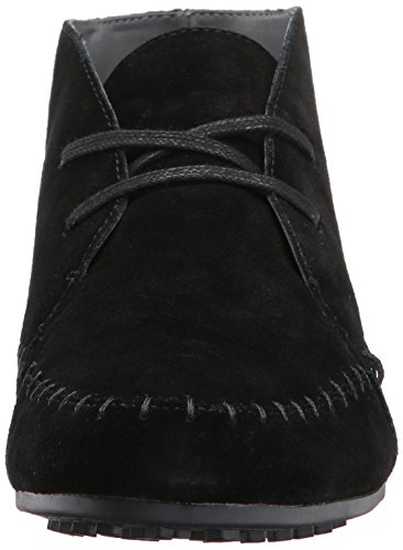 Boot Women's Range Aerosoles Driving Ankle Black Suede wzInOq