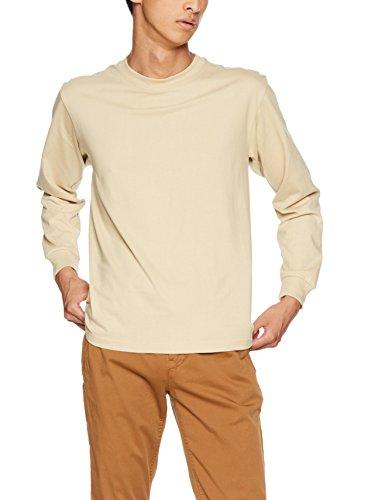 シンプトンの配列柔らかい[ヘインズ] Tシャツ Beefy ロングスリーブ H5186 メンズ