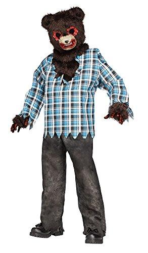 Scary Teddy Bear Child Costume (Medium -