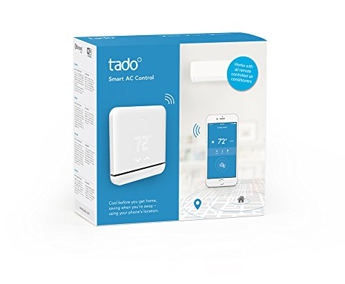 Tado Smart Air Conditioner and Heater Controller, Wi-Fi,  Compatible with iOS and Android, Works with Amazon Alexa by TADO (Image #1)