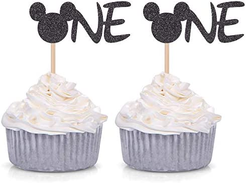 Glitter Inspired Cupcake Birthday Decorations product image