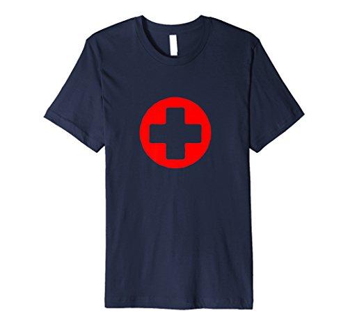 Nurse Lifeguards T-Shirt Deluxe Cross Red Guard Life ()