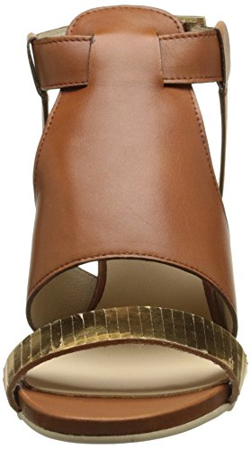 MANAS 161m4308ctl Damen Sandalen Mehrfarbig - Multicolore (Gold/Tan)