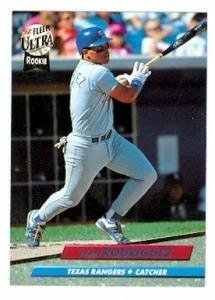Amazoncom Ivan Rodriguez Baseball Card 1992 Fleer Ultra 139