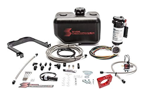 (Snow Performance SNO-2110-BRD Injection Kit with SS Brd Line & 4AN Fittings (05-14 STI Stage 2 Boost Cooler Water-Methanol))