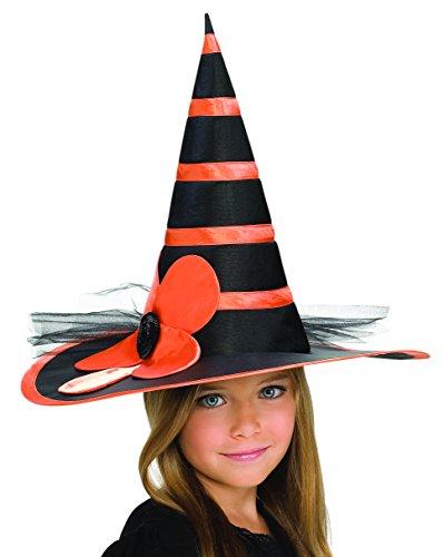 Rubies Child's Orange Sunflower Witch Hat]()