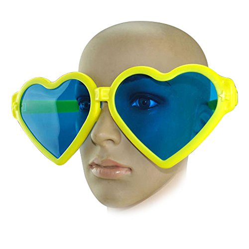 Vb Costume - Vin beauty Giant Oversized Heart Novelty Costume Photo Booth Hen Party Accessory Sunglasses