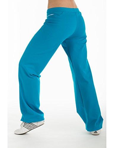 Winshape WTE8 Pantalon d'entraînement pour femme Pour loisirs, sport et yoga S Turquoise - Turquoise