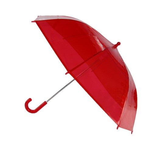 irain kids clear plastic bubble dome hook handle umbrella