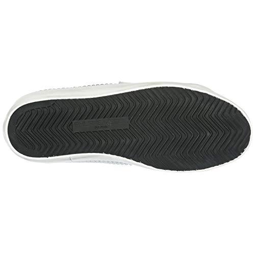 De Philippe Zapatillas Model Nuevo En Piel Deporte Zapatos Paris Blanco Mujer gx4UqAtxpn