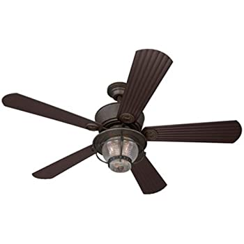 Hunter 21978 1912 Mission 54 Inch Ceiling Fan With Five