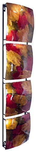 Heather Ann Creations 4 Square Panel Decorative Wall Accent Art, 8