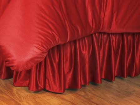 (NHL Detroit Red Wings Bed Skirt, King, Bright)