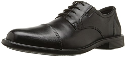 Bostonian Mens Maynor Cap Oxford Black