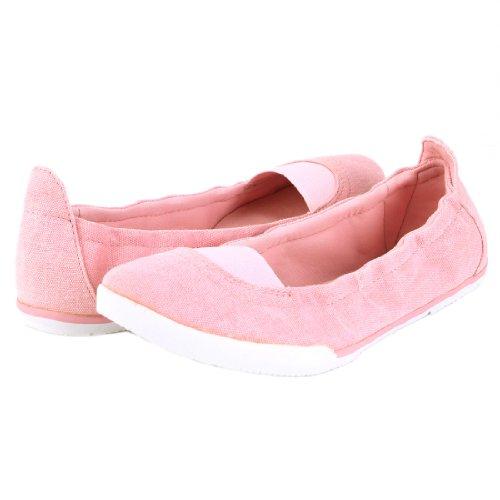 Nine West Women's Sara 100 Flat Shoe -Pink - 6