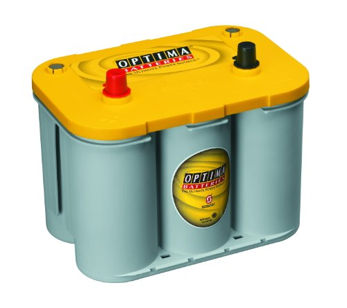 - Optima Batteries 8012-021 D34 YellowTop Dual Purpose Battery