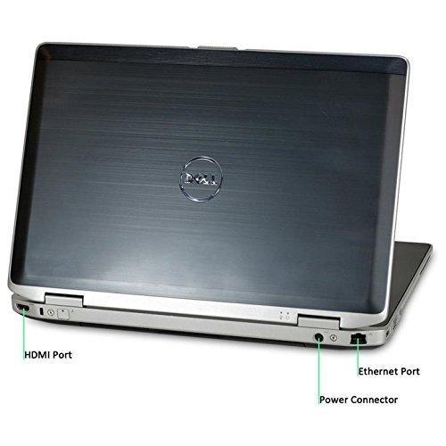 2018 Dell Latitude E6430 Premium 14.1 Inch Business Laptop computer, Intel Dual-Core i7-3520M up to 3.6Ghz Processor, 8GB RAM, 256GB SSD, DVD, HDMI, Windows 10 Professional (Certified Refurbished)
