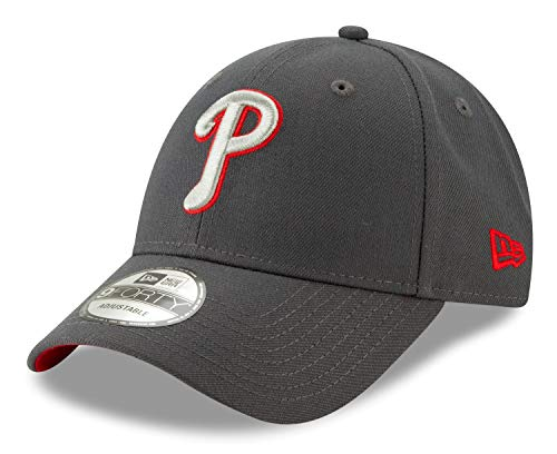 New Era Philadelphia Phillies 9Forty MLB The League Graphite Adjustable ()