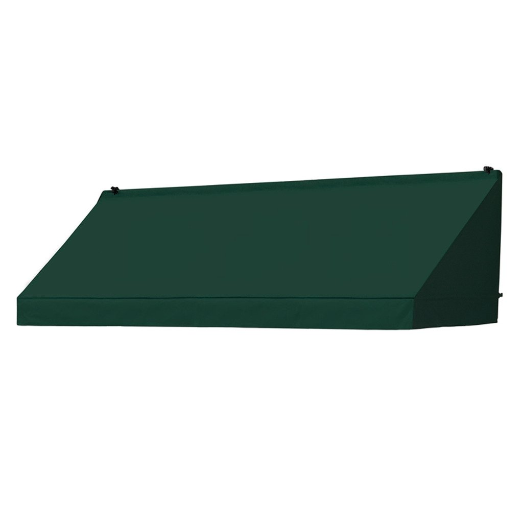 IDM Worldwide 3021040 Replacement Cover for Classic Door Canopy - Forest Green, 4 ft.