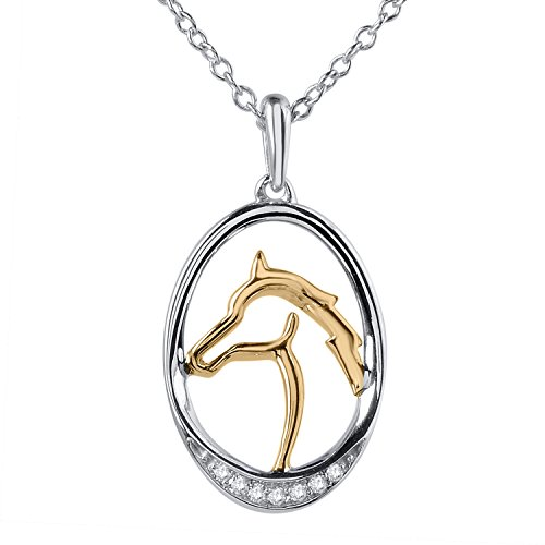 Horses Gold Plate - 3