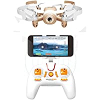 AICase JXD 512DW WiFi FPV Quadcopter Drone, 2.4G 6-axis 4CH HD Camera Real-time Transmission Altitude Hold Gyro Headless Mode RC Helicopter UFO