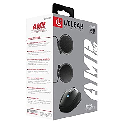 UClear AMP Go Helmet Audio System: Automotive