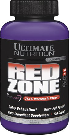 (Ultimate Nutrition Red Zone Fat Burning Weight Loss Supplement (120 Caplets))