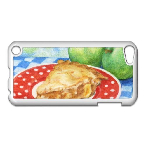 Apple Pie Slice Painting iPod Touch 5th Gen White Hard Case Original Food Art