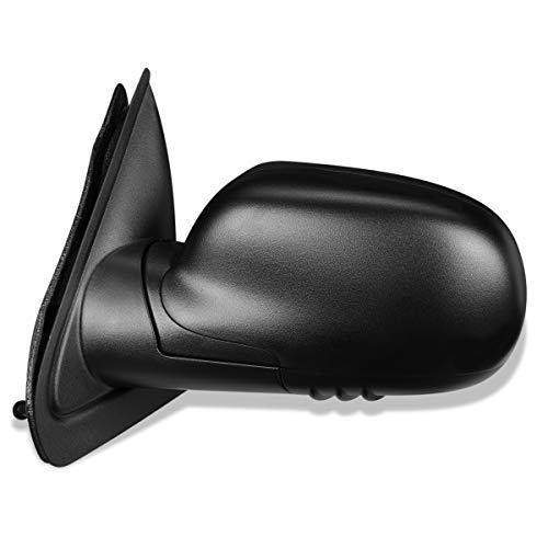 (GM1320265 OE Style Powered+Heated Driver/Left Side View Door Mirror for Chevy Trailblazer GMC Envoy 02-08)