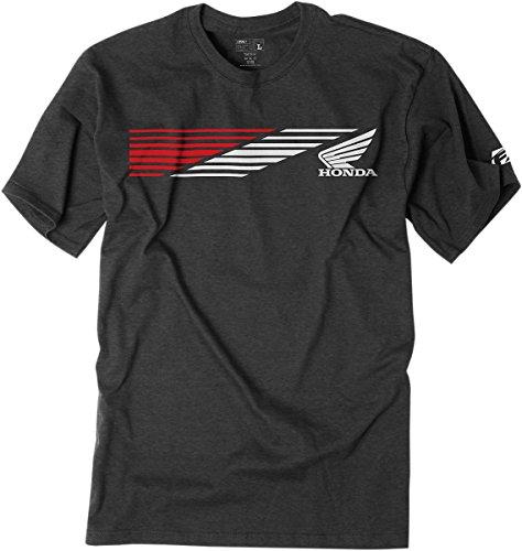 Factory Effex 1987304 Premium T-Shirt (Honda Speed Charcoal, - T-shirt Factory Racing